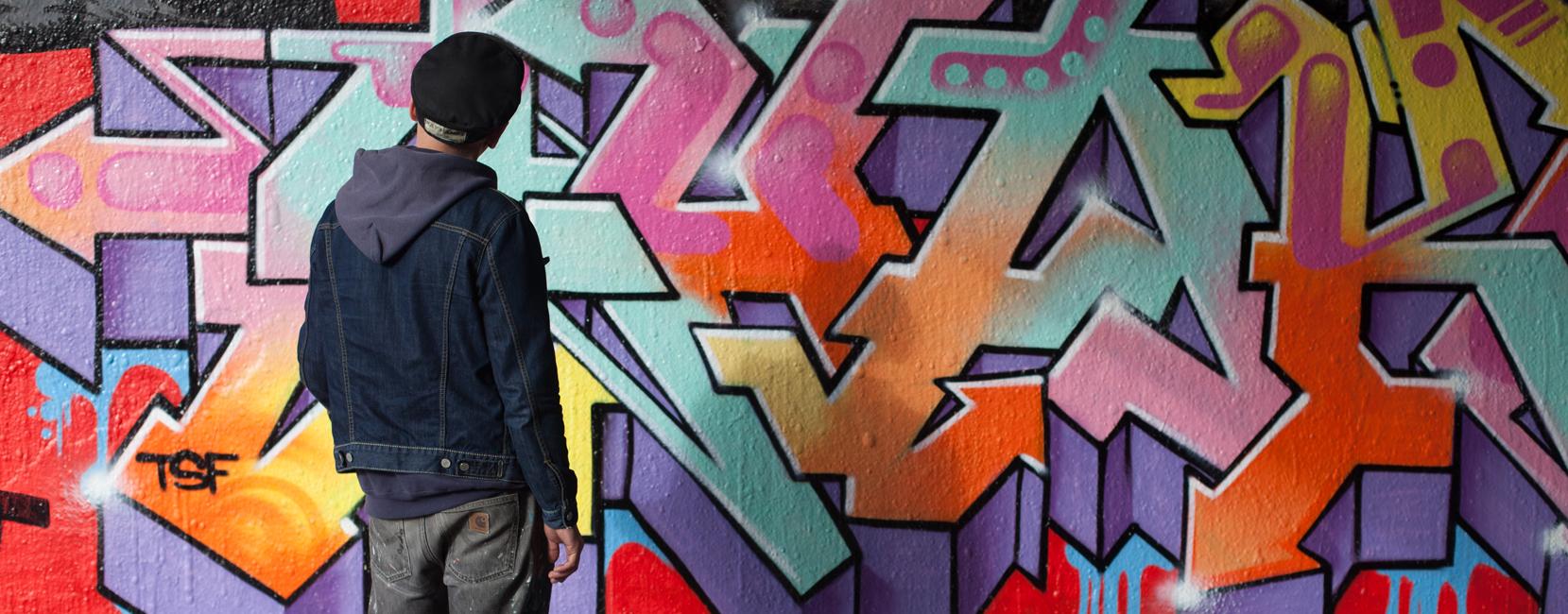 Graffiti Artist 'Shake'